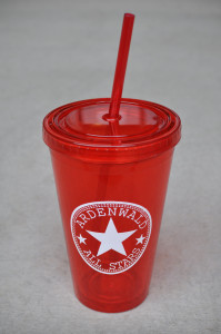 cup & straw - red - WEB